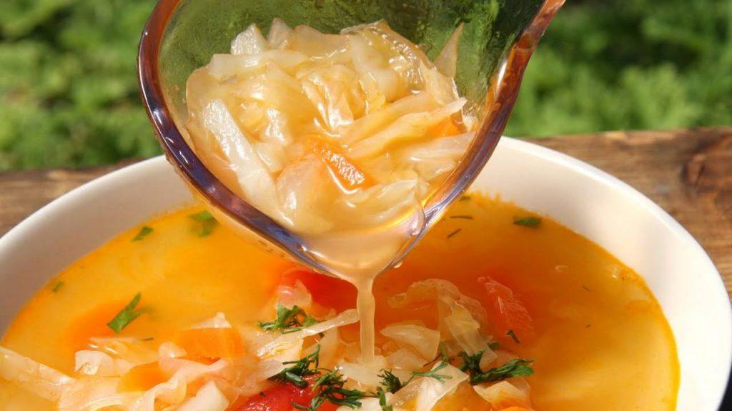 soupe au chou pour maigrir