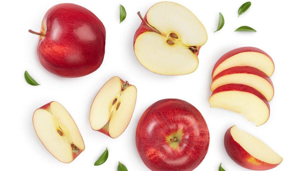manger des pommes tous les jours